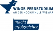 Logo WINGS - FERNSTUDIUM Master  Business Consulting